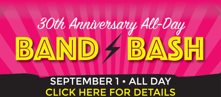 Sharky's Bar and Grill 30th Anniversary All Day Band Bash Party